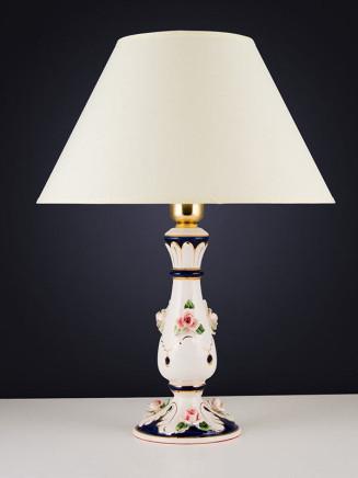 Tischleuchte 464555 Keramik handbemalt Serie 4.55 ''Sabrina''