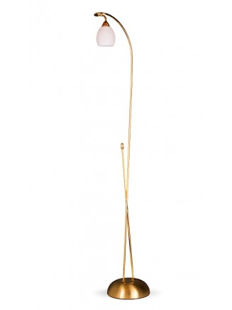 Stehleuchte 504245 modern, echt Messing, 24k vergoldet, Serie 4.24 ''Angelique''